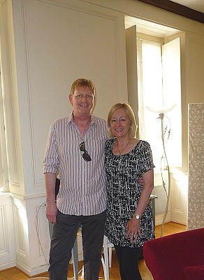 Mark and Sue Robins.
