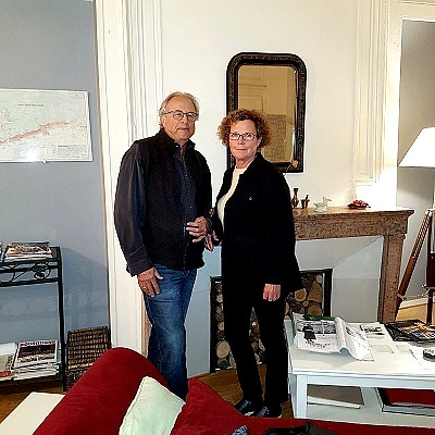 Christine and Larry (My Home in Dijon, France, October 2018