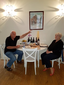 John and Diane (New Zealanders, My Home in Dijon)