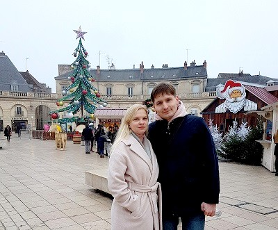 Alexander and Anastasia( Moscow) in Dijon
